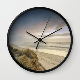 Rodanho beach, Viana do Castelo, Portugal Wall Clock