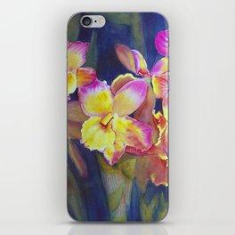 Dendrobium Orchids iPhone Skin