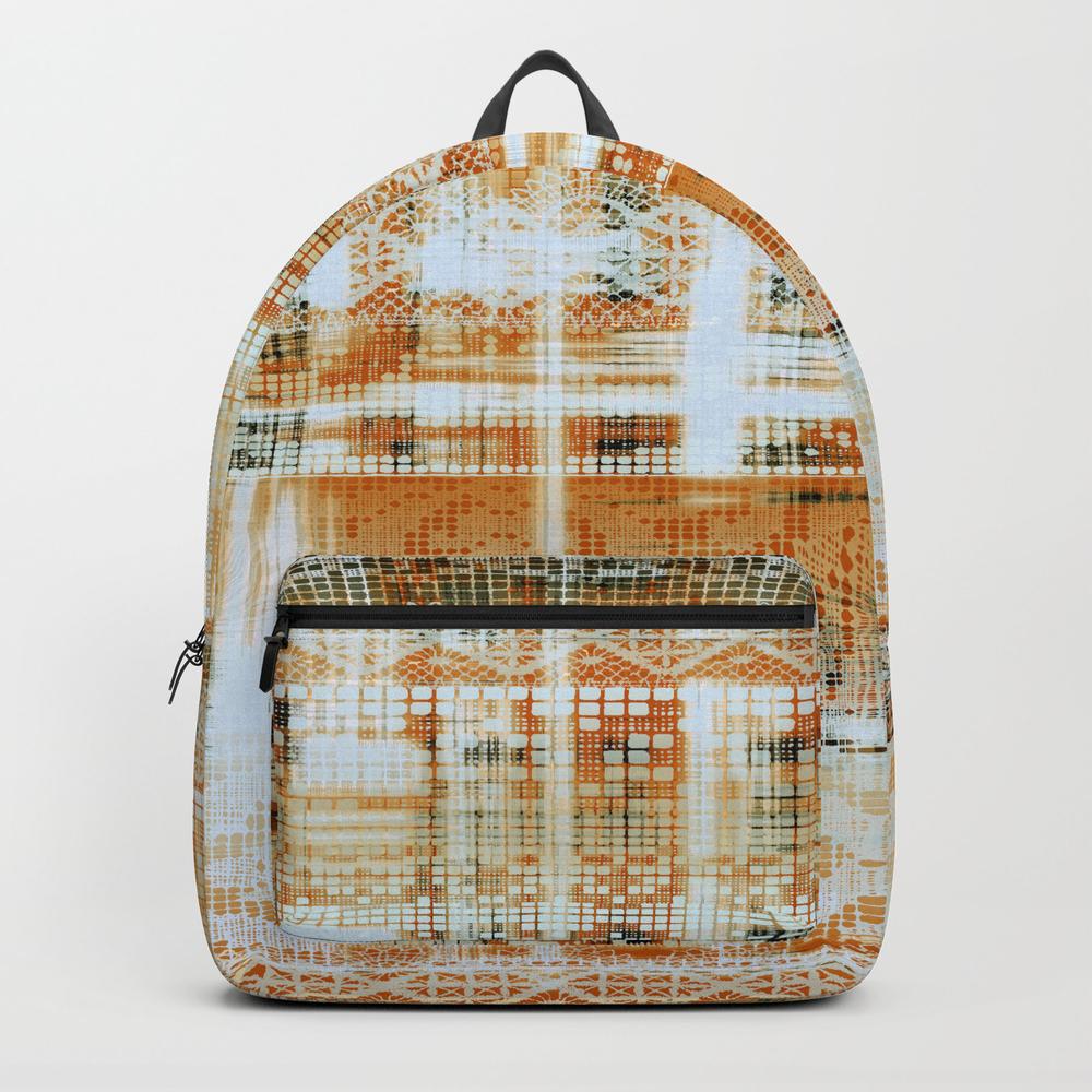 Needlepoint Sampler In Sunny Rays Backpack by Mpzstudio BKP8871869