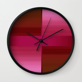Stylish combo 4 Wall Clock