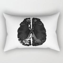 Inkblot Brain Rectangular Pillow