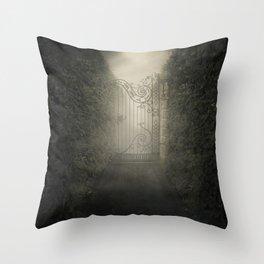 Forgotten alley Throw Pillow
