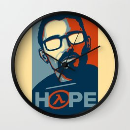 Half Life Hope Wall Clock