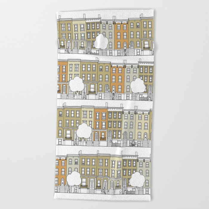 Brooklyn (color) Beach Towel