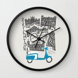 Brighton Cityscape Wall Clock