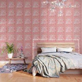 Can I Get An Amen? – Blush Pink Palette Wallpaper