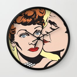Lucy and Desi Wall Clock