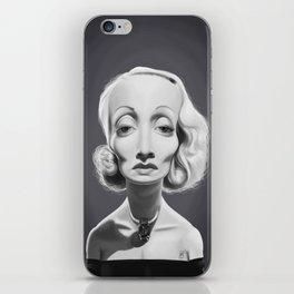 Marlene Dietrich iPhone Skin