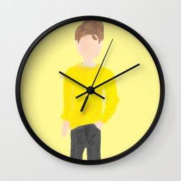 modern Cedric Diggory hufflepuff wizard hogwarts champion Wall Clock