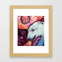 CosmoBear Framed Art Print