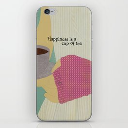 Cup of Tea iPhone Skin