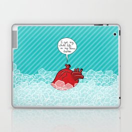 Don't listen to your heart Laptop & iPad Skin