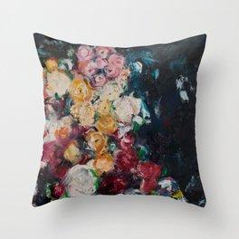 Balboa Roses.. Throw Pillow