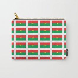 Flag of burkina faso- burkinabe,mossi,fula,ouagadougou,dioula,bobo-dioulasso,sahel,voltaic. Carry-All Pouch