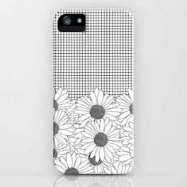 Daisy Grid iPhone Case
