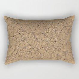 Geometry is like, hard. Rectangular Pillow