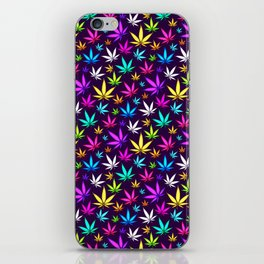 Colorful OG Herb Pattern iPhone Skin