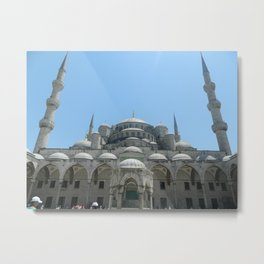 Blue Mosque  Metal Print