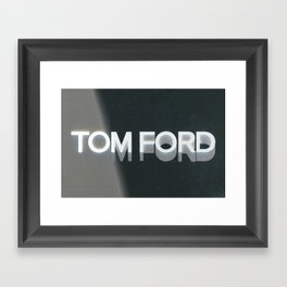 Tom Ford Framed Art Print