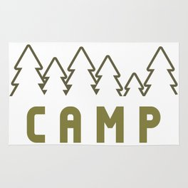 Camp Wilderness Rug