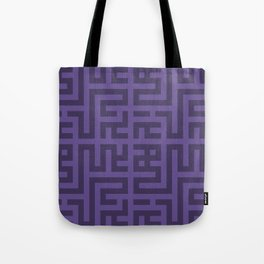 Snake Very Violet Tote Bag