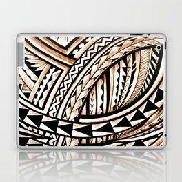 Polynesian Tapa Pattern Laptop & iPad Skin