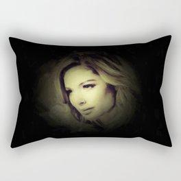 Doutzen Kroes - Portrait Painting Style Rectangular Pillow