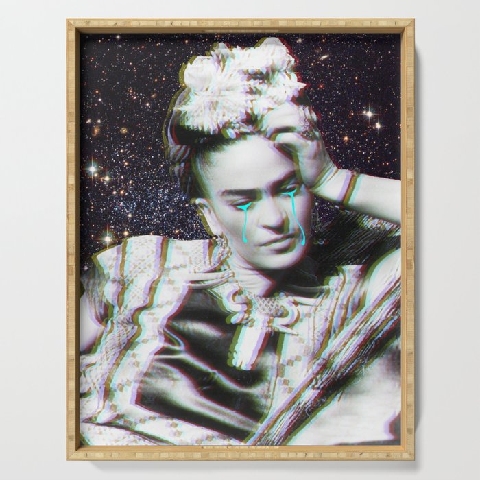 Frida in Space Serving Tray