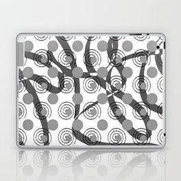 Love Laces grey Laptop & iPad Skin