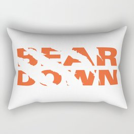 Bear Down - Claw Tear Rectangular Pillow