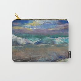 Moonlit Waves Carry-All Pouch