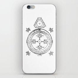 The Solomonic Magic Circle iPhone Skin