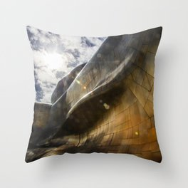 Architectural Geometry / 3 Throw Pillow