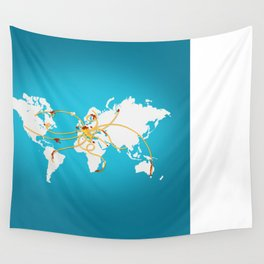 The Spaghetti Connection Wall Tapestry