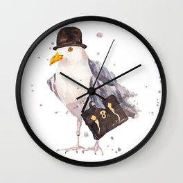 Morning Cummute Wall Clock