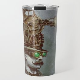 The Projectionist (colour option) Travel Mug