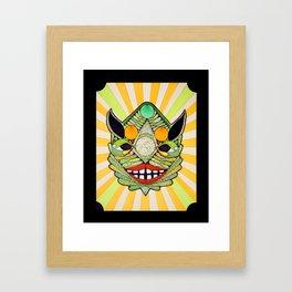 Swamp creature of Life Framed Art Print