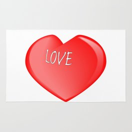 Love Heart Rug