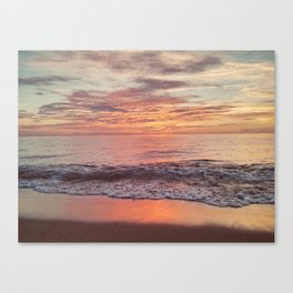 Race Point Sunset Canvas Print