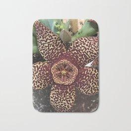 Starfish Plant - Stapelia Variegata Bath Mat