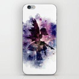 Galaxy fairy iPhone Skin