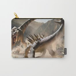 Dinosaurs Jurassic fighting Carry-All Pouch