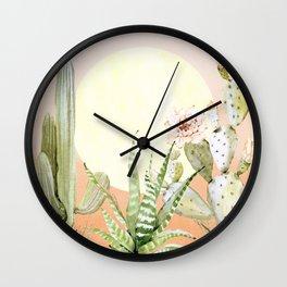 Desert Days Wall Clock
