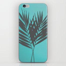 Palm Leaves #1 #Mint #decor #art #society6 iPhone Skin