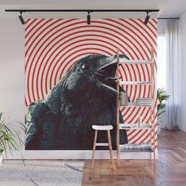 Crow Wall Mural