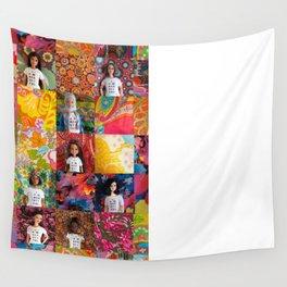 You Are Beautiful, Too! (Midge, Nzinga and Isabela) Wall Tapestry