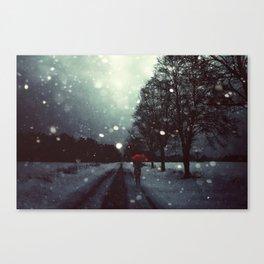 Dark Winter Canvas Print