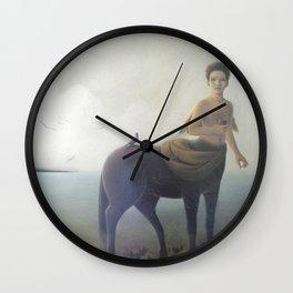 Early morning on Aquaferia II Wall Clock