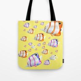 Tropical fish Yellow edition Tote Bag