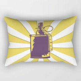 old grenade Rectangular Pillow
